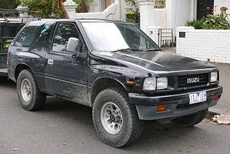 Isuzu MU - 1989–1992 Isuzu MU (UCS55) 3-door (Japan)