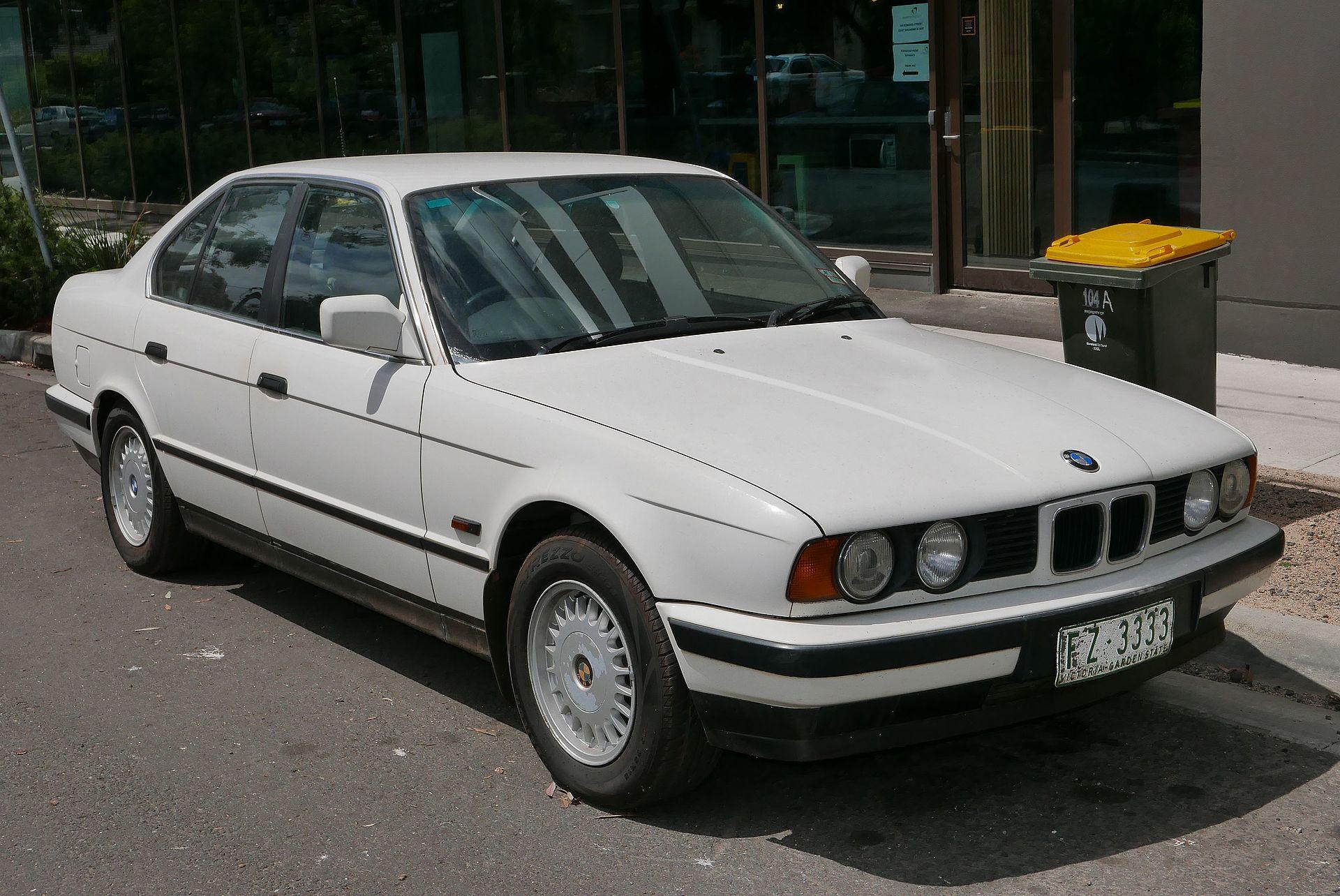 Bmw X4 Wiki >> BMW 5 Series (E34) - Wikipedia