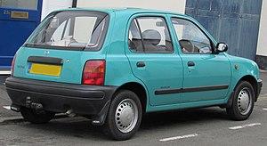 Nissan Micra - Pre facelift Nissan Micra