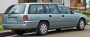 Holden Commodore (VS) - Image: 1996 1997 Holden VS II Commodore Executive station wagon 05
