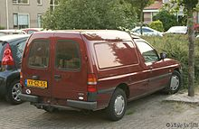 92e25d6b8690cf Van (1995-2002). The Ford Escort ...