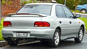 1999 Subaru Impreza (GC8 MY99) RX AWD sedan (2011-08-17) 02.jpg