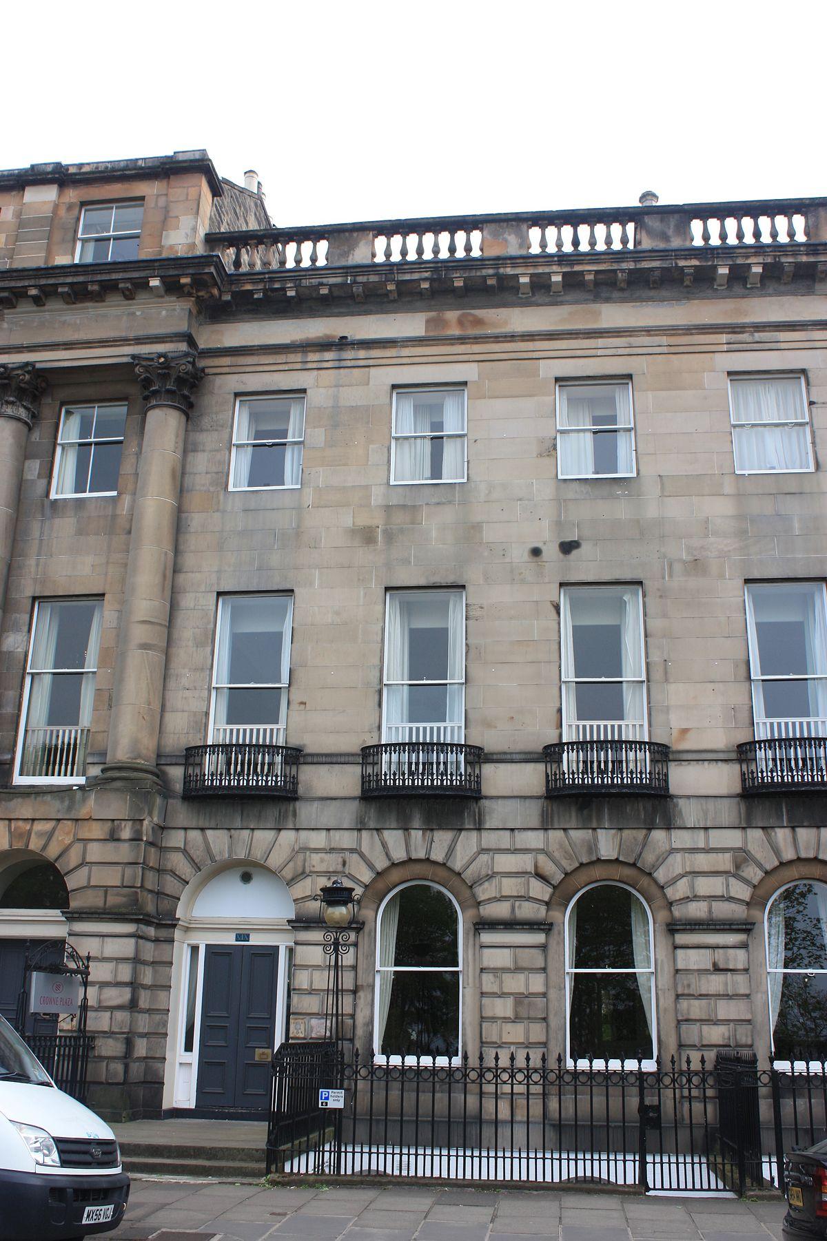Francis chalmers crawford wikipedia for 1 royal terrace edinburgh