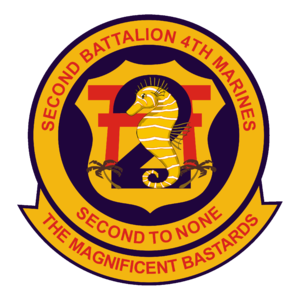 2nd Battalion, 4th Marines - 2nd Battalion, 4th Marine Regiment insignia