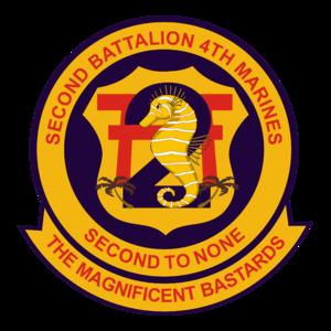 2nd Battalion, 4th Marines - 2nd Battalion, 4th Marine Regiment insignia