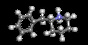 2-Benzylpiperidine - Image: 2 benzylpiperidine 3d