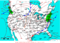 2005-07-08 Surface Weather Map NOAA.png