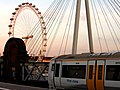 2005-07-10 - London - Charing Cross Station - London Eye - First Class (4887962858).jpg