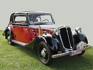 Hansa (company) - 1937 Hansa 1100