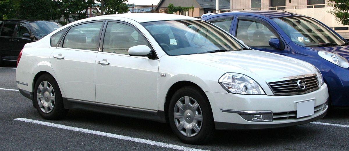Nissan Teana — Wikipédia