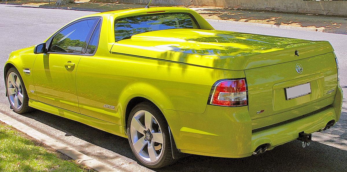 File:2008 Holden VE Commodore SS V Ute (rear view) jpg