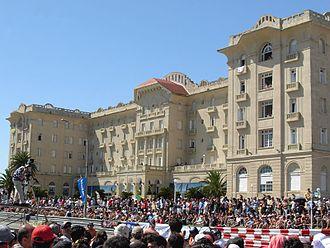 Piriápolis - The Hotel Argentino, during the 2008 Piriápolis Grand Prix.