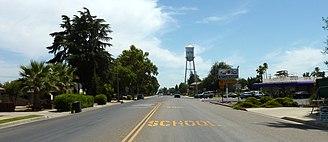 Exeter, California - CA Hwy 65 through Exeter