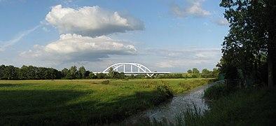 20090728 Walfridusbrug (spoorbrug Van Starkenborghkanaal) Groningen NL.jpg