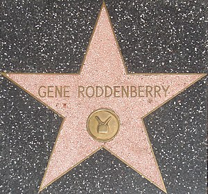 Gene Roddenberry filmography - Roddenberry's star on the Hollywood Walk of Fame