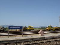 2010 Platform at Stazione di Decimomannu.JPG