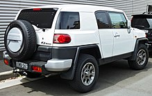 Attractive 2011 FJ Cruiser Right Hand Drive Variant With License Plate Located On The  Rear Bumper (Australia)