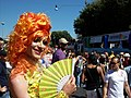 2012-06-23 Rome Gay Pride - transsex wearing an orange wig.jpg