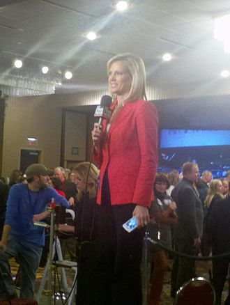 Shannon Bream - Bream reporting on the results of the 2012 congressional elections in Iowa