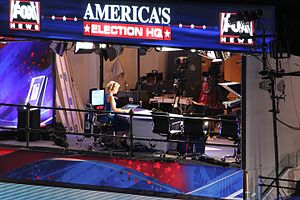 Fox News - Then-Fox anchor Megyn Kelly covering the 2012 Democratic National Convention