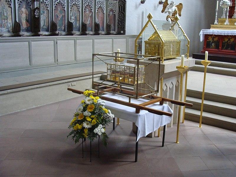 Saint Kilian relics