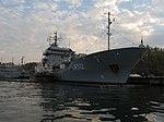 2013-08-29 Севастополь. Вспомогательное судно A512 Mosel ВМС Германии (12).JPG