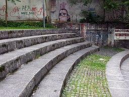 Steintreppen in Ljubljana