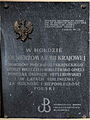 2013 Commemorative plaque of Płock Cathedral - 17.jpg