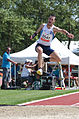 2013 IPC Athletics World Championships - 26072013 - Georgios Kostakis of Greece during the Men's triple jump - T46 1.jpg