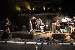 Open-air Feine Sahne Fischfilet concert in 2014