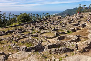 Spain - Celtic castro in Galicia