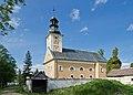 2014 Wilkanów, kościół św. Jerzego 02.JPG
