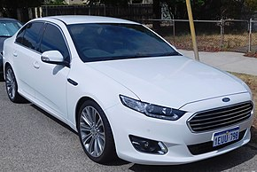 2015 Ford Falcon (FG X) G6E Turbo sedan (2016-01-29) 01.jpg