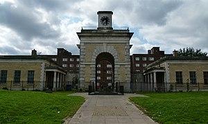 Royal Marine Barracks, Woolwich - Gatehouse to the former Royal Marine Barracks (later known as Cambridge Barracks)