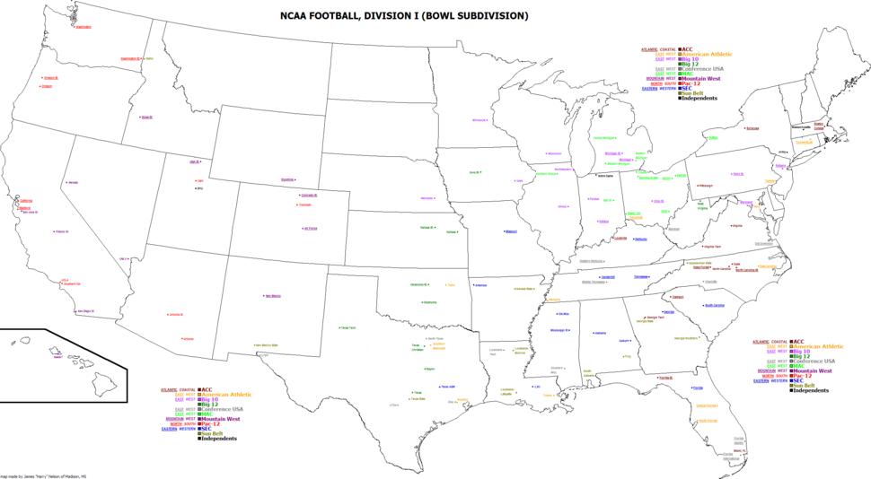 2015 NCAA FBS Football Programs