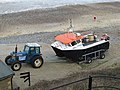2016-01-03 Cromer, East Beach, Fishing boat.JPG