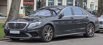 Sports sedan - Mercedes Benz S63 AMG