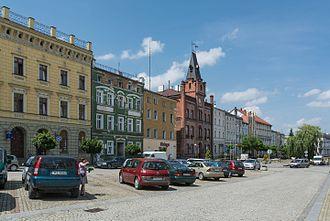 Niemcza - Image: 2016 Rynek w Niemczy 02