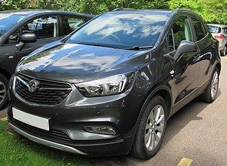 Opel Mokka - Image: 2017 Vauxhall Mokka X Elite 1.6 Front