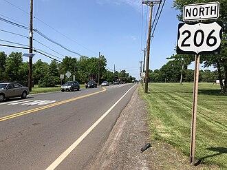 Hillsborough Township, New Jersey - US 206 in Hillsborough