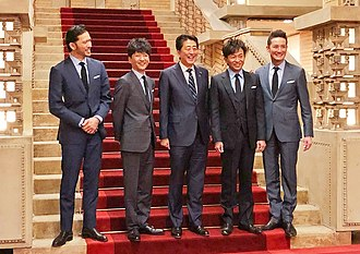 Tokio (band) - Meeting with the Japanese Prime Minister Shinzō Abe.