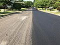 2019-06-02 08 31 23 View southwest along Ladybank Lane in the Chantilly Highlands section of Oak Hill, Fairfax County, Virginia during a paving project.jpg