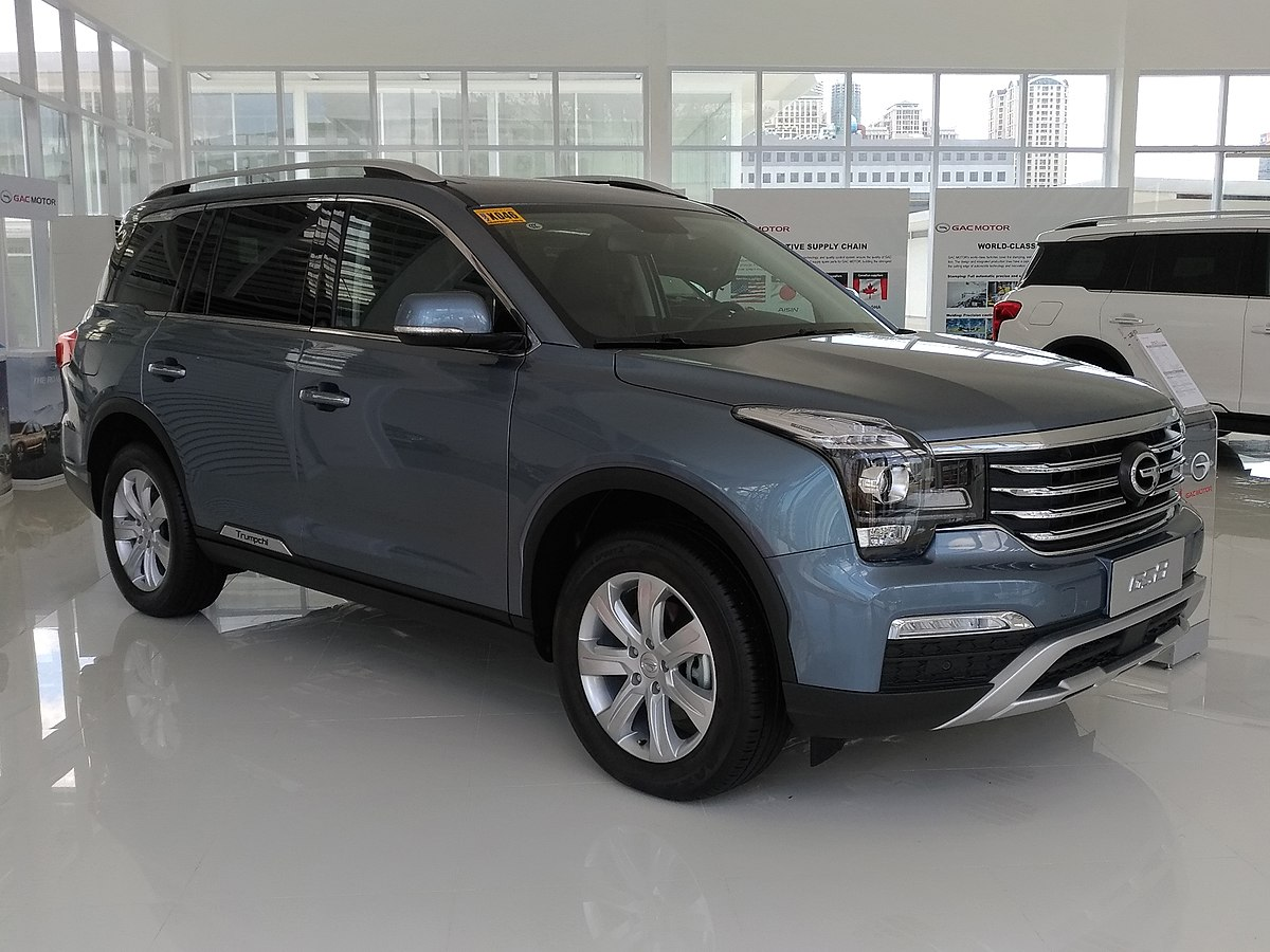 Trumpchi Gs8 Wikipedia