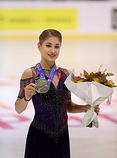 Alena Kostornaia Russian figure skater