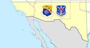 26th Air Division - 26th Air Division/Southwest Air Defense Sector AOR, 1979-1990
