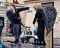 27. Ulica - ALT@RT, Lucia Kašiarová -26 Vanda Hybnerová - Angel-y - 20140711 8466.jpg