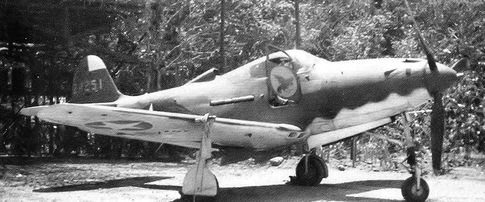 29th Fighter Squadron Bell P-39K-1-BE Airacobra 42-4251