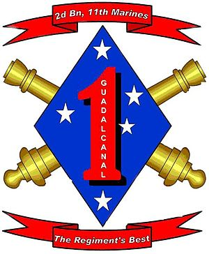 2nd Battalion, 11th Marines - 2/11 Insignia