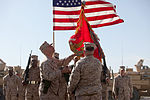 2nd MLG (FWD) transfers authority to 1st MLG in Helmand 120215-M-KV513-077.jpg