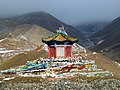 3,520m Sun and Moon Mountain Riyueshan Qinghai China 青海 日月山 日月亭 - panoramio (1).jpg